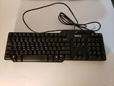 Dell USB Smart Card Reader Black English Keyboard KW240 RT7D60 T6867 FM7DR UM991