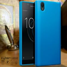 Sony Xperia L1 Worlds Thinnest Gel Case Impact Displacement Flexible Cover Blue