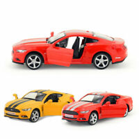 Ford Mustang 2015 1/36 Model Car Metal Diecast Gift Toy Vehicle Kids Pull Back