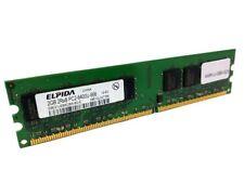 Elpida EBE21UE8ACWA-8G-E 2GB PC2-6400 DDR2-800 240-Pin Desktop RAM