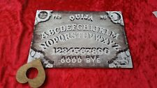 Classic wooden Ouija Spirit Board game & Planchette with instruction EVP Magic
