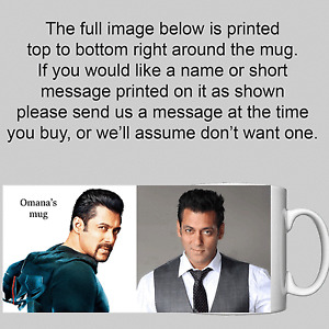 Salman Khan - Bollywood - Personalised Mug / Cup