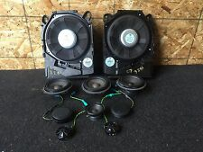 BMW E90 E91 E92 328I OEM AUDIO SOUND SPEAKERS TWEETERS SUBWOOFERS 65136925334