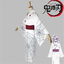 Demon Slayer Rui Cosplay Costumes Wig Kimetsu no Yaiba Spider Girl Outfits Suit