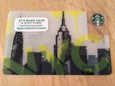 "Starbucks ""NYC 2016"" Gift Card - New No Value"