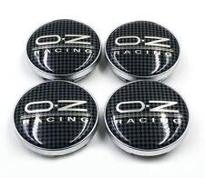 Carbon Wheel Center Hub Badge Caps 60mm For OZ RACING VW GOLF GTI MK5 MK6 MK7 CC