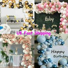 Latex Confetti Balloons+Balloon Arch Kit Happy Birthday Wedding Hen Party Decor
