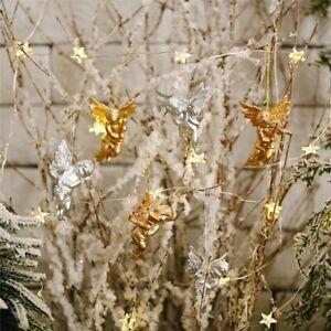 Miniature Christmas Angel Ornaments Mini Angel Cherub Christmas Tree Decorations