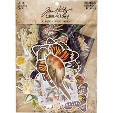 TIM HOLTZ  IDEA-OLOGY EPHEMERA - Botanical Layers - Butterflies, Birds, Flowers,