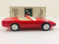 AMT ERTL 1992 CHEVROLET CORVETTE CONVERTIBLE SPECIAL EDITION #6666 with box #887