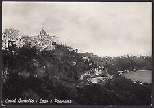 AA4110 Roma - Provincia - Castel Gandolfo - Lago e Panorama - Cartolina postale