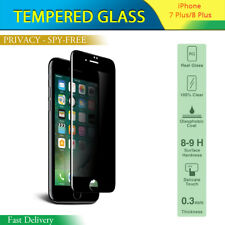 """PRIVACY PROTECTOR ANTI SPY SCREEN TEMPERED GLASS GLOSSY FOR IPHONE 7 + PLUS 5.5"""""""