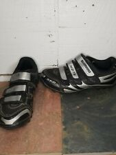 Shimano MD76 SPD Mountain Bike Shoes Mens Sz 39/US 8 Black Silver SH-MO76 w/Clip