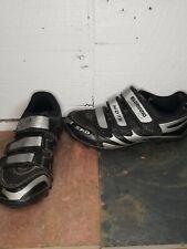 Shimano MD76 SPD Mountain Bike Shoes Mens Sz 39/US 8 Black Silver SH-MO76 w/Clip