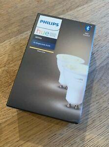 Philips Hue Warm White 2200-6500K 2 pack bulbs GU10