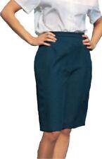 Faldas de mujer larga color principal azul de poliéster