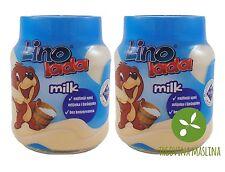 2x Lino Lada Milk 350 g, Süsse Brotaufstrich, Slatki Namaz