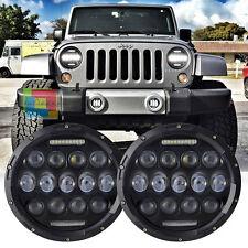 Jeep Wrangler JK 07-11 FARI ANTERIORI FULL LED - CON LUCI DIURNE BIANCO 6000K