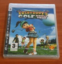 SONY PS  3  EVERYBODY'S GOLF WORLD TOUR    NEUF blister