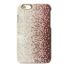 Faded Purple Clear Made with Swarovski Crystals Bling Case Cover iPhone 7/8 Plus