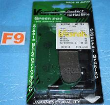 2 plaquettes de frein arrière VESRAH Yamaha YZF R1 R6 MAJESTY 250 SKYLINER X-MAX