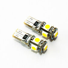2x CANBUS T10 W5W LAMPE Autolampe 12V Xenon Weiss Optik Leuchte Soffite