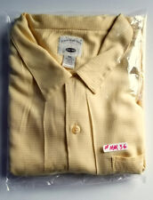 Men's Original Island Yellow Sport Camp Shirt Size is XXL