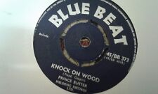 """Prince Buster , Knock On Wood , And I Love Her , 7 """" Blue Beat Label"""