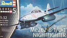 1/32 Revell Messerschmitt Me 262B-1/U-1 Nightfighter+ Aerocraft brass legs extra