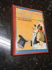 1906 DOROTHY & WIZARD IN OZ Illustrated First Edition ?FRANK BAUM