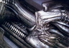 HR Giger Art Poster Print Erotomechanics Devil Baphomet Biomechanical Robot