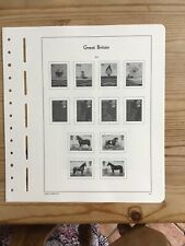 Lighthouse Preprinted Stamp Album Pages/ Leaves, Great Britain 1978