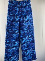 Kamik Boomer Shredder Blue Straight Leg Snow Pants Boy's Size 12