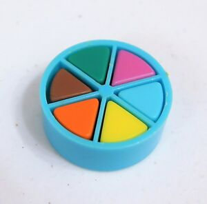 Trivial Pursuit Board Game Replacement Parts BLUE MOVER 6 Wedge Pieces Pie Token