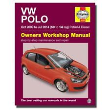 Haynes Manual Volkswagen Polo Petrol & Diesel 59-14 Car Workshop Repair Book5638