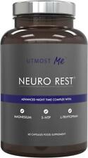 Natural Sleeping Aid Insomnia Tiredness Sleep Rest 5 HTP Magnesium Melatonin UK
