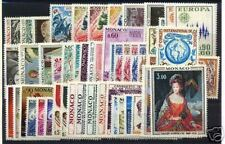 MONACO STAMP ANNEE COMPLETE 1972 : 49 TIMBRES NEUFS xx LUXE