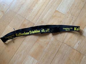 Startnummernband Triathlon