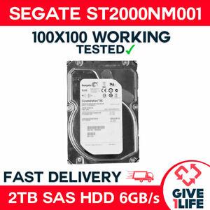 """SEAGATE ST2000NM001 2TB SAS HDD 3.5"""" 7.200RPM 6GB/s Hard drive SERVIDOR DELL HP"""
