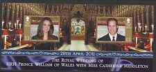 Isle of Man Sc# 1435 Wedding of Will & Kate 2011 Mnh Vf S/S