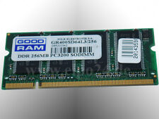 Good RAM DDR Notebook Laptop Notebook Arbeitsspeicher 256MB PC3200 SODIMM 400MHz