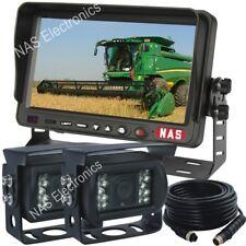 Farm Machinery Rear View Camera Kit With Backup Camera 7inch Reversing Monitor