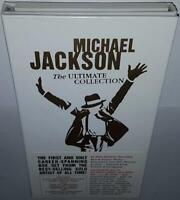 MICHAEL JACKSON THE ULTIMATE COLLECTION BRAND NEW SEALED 4CD + DVD WHITE BOXSET