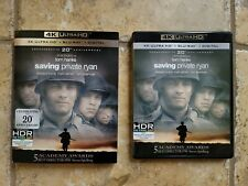 Saving Private Ryan 4K Uhd Bluray Rare Oop Slipcover War Spielberg