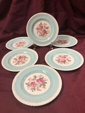 "Johnson Brothers England ""Old English"" Pattern 6 Dessert Plates~6 1/4"" Diameter"