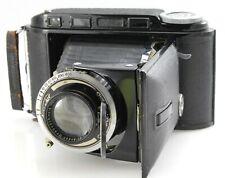 Voigtlander Bessa Rangefinder with 105mm F3.5 Helomar Lens. Serviced 120 film