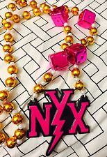 2015 Krewe Of Nyx Polystone Nyx Mardi Gras Beads