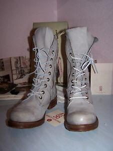 AS98 SAINTEC SMOKE Women`s Boots NEW Light-Gray Size 8