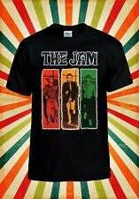 The Jam The Gift Post Punk Rock Cool Men Women Vest Tank Top Unisex T Shirt 2216