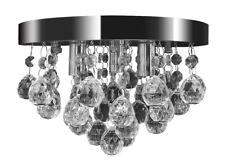 vidaXL Pendant Ceiling Lamp Crystal Design Chrome Chandelier Lighting Fixture